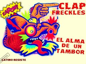 Clap Freckles art